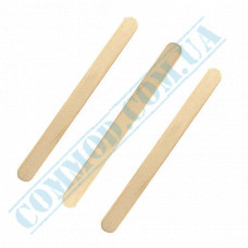 Wooden sticks 114mm for ice cream 250 pieces