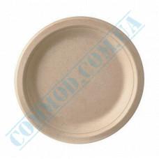 Sugarcane Round Plates 170mm Beige 50 pieces
