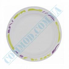 Sugarcane Round Plates 170mm Chinet Mosaic Huhtamaki (Poland) 175 pieces
