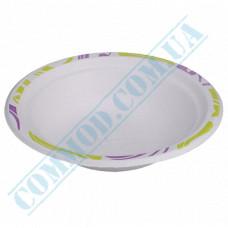 Sugarcane Deep soup plates 400ml Chinet Mosaic Huhtamaki (Poland) 50 pieces