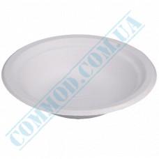 Sugarcane Deep soup plates 400ml White 125 pieces