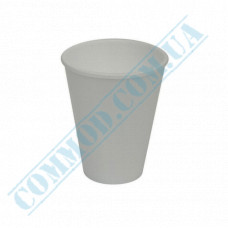 Cups 200ml made of polystyrene foam white for hot drinks 50 pieces
