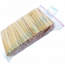 Wooden stirrers for coffee and tea 110*5*1.3mm 800 pieces per pack