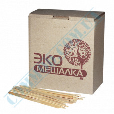 Wooden stirrers for coffee and tea 120*5*1.3mm 1000 pieces per package