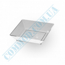 Forms buffet Plate 65*65*10mm transparent 45ml 25 pieces per pack