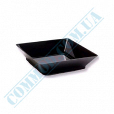 Forms buffet Plate 65*65*10mm black 45ml 25 pieces per pack