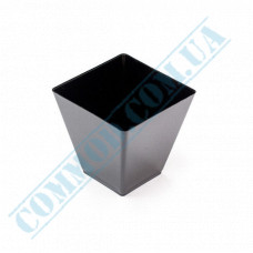 Forms buffet Square 47*47*45mm black 60ml 20 pieces per pack
