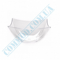 Forms buffet Square Mini 70*70*35mm transparent 90ml 25 pieces per pack