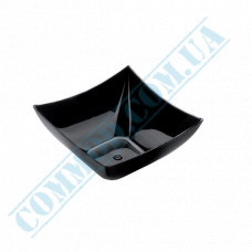 Forms buffet Square Mini 70*70*35mm black 90ml 25 pieces per pack