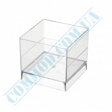 Forms buffet Cube 47*47*41mm transparent 60ml 15 pieces per pack