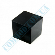 Forms buffet Cube 47*47*41mm black 60ml 15 pieces per pack