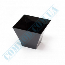 Forms buffet Pagoda 62*62*50mm black 90ml 25 pieces per pack
