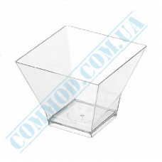 Forms buffet Pagoda 67*67*53mm transparent 120ml 25 pieces per pack