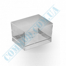 Forms buffet Pair 58*45*36mm transparent 60ml 15 pieces per pack