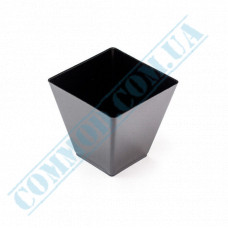 Forms buffet Rhombus 55*56*53mm black 95ml 25 pieces per pack