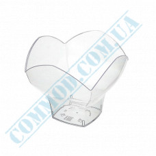 Forms buffet Spring 75*75*60mm transparent 100ml 25 pieces per pack