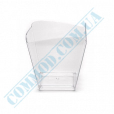 Forms buffet Wave 57*57*50mm transparent 95ml 25 pieces per pack