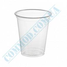 Сocktails PET cups 200ml transparent 50 pieces under the lid Dome Ǿ=95mm (Ukraine)