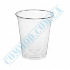 Plastic cups PET   for cocktails   200ml   Ǿ=96mm   transparent   Ukraine   50 pieces per pack