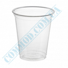Plastic cups PET   for cocktails   300ml   Ǿ=96mm   transparent   Ukraine   50 pieces per pack