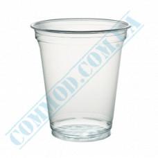 Cocktails APET cups 300ml transparent 67 pieces under a lid Dome Ǿ=95mm Huhtamaki (Poland)