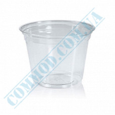Plastic transparent dessert cups 200ml Ǿ=95mm h=73mm without lid 50 pieces