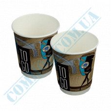 Double Wall paper cups 250ml Coffee To Go Mix 25 pieces per pack Huhtamaki (Poland)