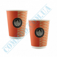 Double Wall paper cups 350ml Great To Go 25 pieces per pack Huhtamaki (Poland)