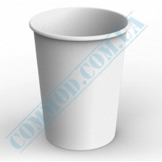 Paper containers | 1000ml | Ǿ=115mm h=155mm | White | without lid | for hot and cold food | 100 pieces per pack