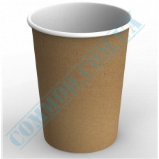 Paper containers | 1000ml | Ǿ=115mm h=155mm | Craft | without lid | for hot and cold food | 100 pieces per pack