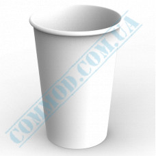 Paper containers | 1400ml | Ǿ=120mm h=180mm | White | without lid | for hot and cold food | 100 pieces per pack