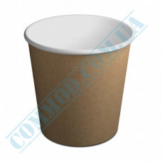 Paper cups containers 4000ml V130 Kraft 50 pieces