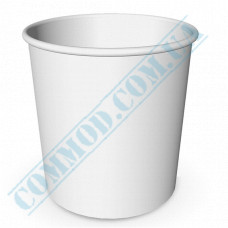Paper cups containers 5000ml V170 White 25 pieces