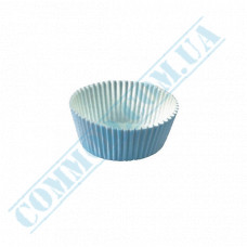 Paper forms for muffins and cupcakes D-29mm h-16mm White 1000 pieces per pack