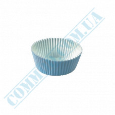 Paper forms for muffins and cupcakes D-35mm h-19mm White 1000 pieces per pack