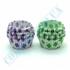Paper forms for muffins and cupcakes D-40mm h-20mm Colored 1000 pieces per pack