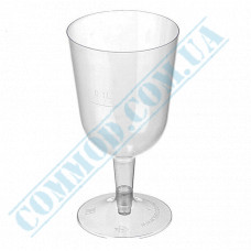 Wine glasses 200ml glass-like transparent 18 pieces per pack
