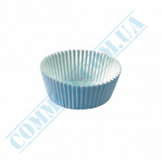 Paper forms for muffins and cupcakes D-45mm h-25mm White 1000 pieces per pack