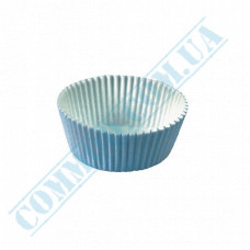 Paper forms for muffins and cupcakes D-50mm h-25mm White 1000 pieces per pack