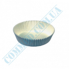 Paper forms for muffins and cupcakes D-60mm h-23mm White 2000 pieces per pack