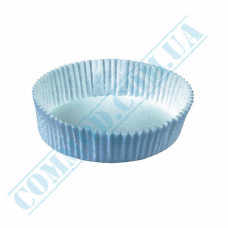 Paper forms for muffins and cupcakes D-75mm h-20mm White 1000 pieces per pack