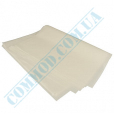 White uncoated food paper   320*320mm   40g/m2   art. 360   1000 pieces per pack