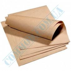 Food packaging paper in sheets 320*320mm Brown 1000 pieces per pack article 941
