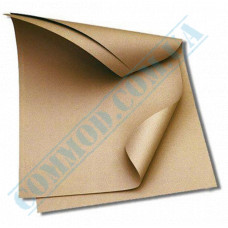 Food packaging paper in sheets 320*320mm Brown 1000 pieces per pack fat-resistant article 1722