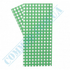 Food packaging paper 40g/m2 in sheets 300*320mm Green cage 1000 pieces per pack fat-resistant article 1828