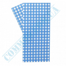 Food packaging paper in sheets 300*320mm Blue cage 1000 pieces per pack fat-resistant article 1879
