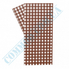 Food packaging paper in sheets 300*320mm Brown cage 1000 pieces per pack fat-resistant article 1859
