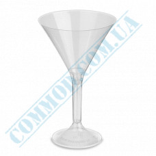 Glass-like glasses 160ml for martini high 20 pieces per pack (Ǿ=95mm, h=155mm)