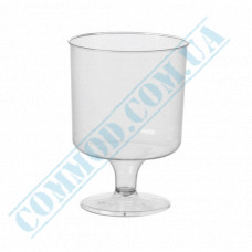 Wine glasses 200ml glass-like transparent 20 pieces per pack