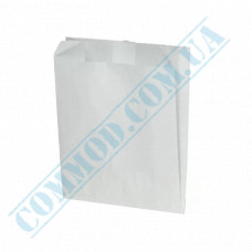 Paper bag for French fries 140*120*50mm White fat resistant 1000 pieces article 1785